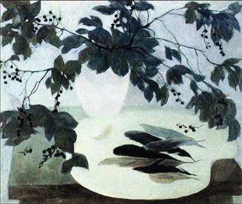 Натюрморт с перьями