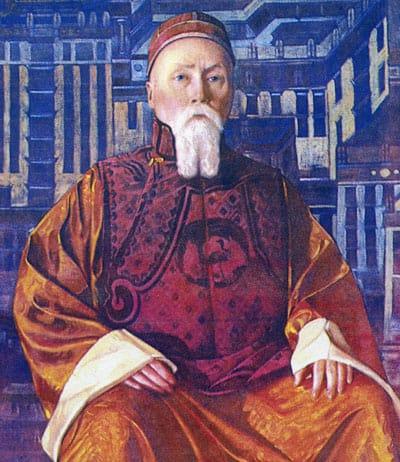Святослав Рерих. Портрет Николая Рериха. 1928