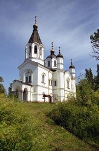 Валаам. Храм Всех святых. 1849 Фото Д. Бразовского