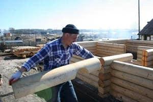 В Толвуе строится новый дом
