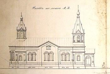 Троицкая церковь в Кончезере. Проект М.И. Маркова
