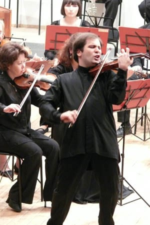 Дмитрий Коган и оркестр Карельской филармонии