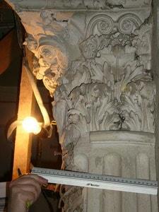 Размурованная колонна. Фото 2007 года