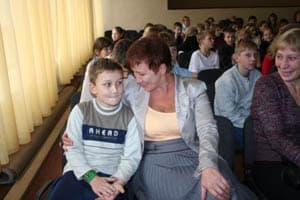 Демьян Юзвюк и его бабушка
