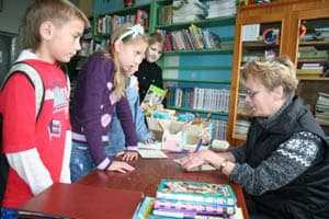 Марина Ивановна Героева любит работать на абонементе