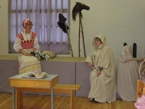 Сцена из спектакля по 50-й руне ''Калевалы''