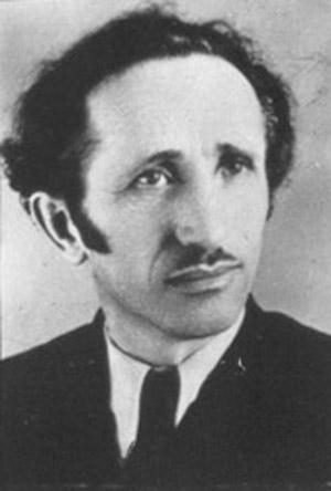 Хаим Логинский. Фото 1950 года