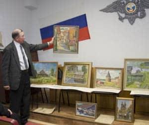 Борис Поморцев рассказывает о своих картинах
