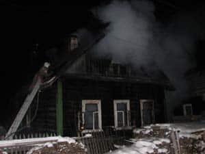В пожаре на ул. Нахимова погибли два человека