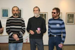 В. Ваян, А. Трифонов и В. Наконечный