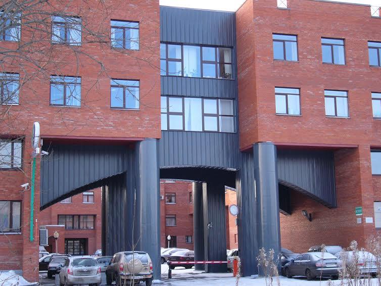 Фрагмент здания таможни