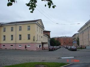 Бывший Палатский переулок в начале XXI века. Вид на