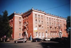Тот же дом в 2003 году