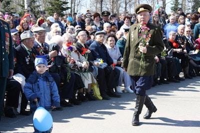 Петрозаводск празднует День Победы!