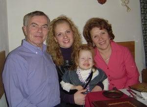 Дон с любимой семьей из Петрозаводска
