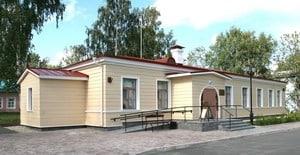 Здание бывшей земской больницы на ул. Федосовой, 19