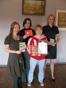 Слева направо: Ирина Мамаева, Марина Андреева, Анна Матасова, Анастасия Евтухович