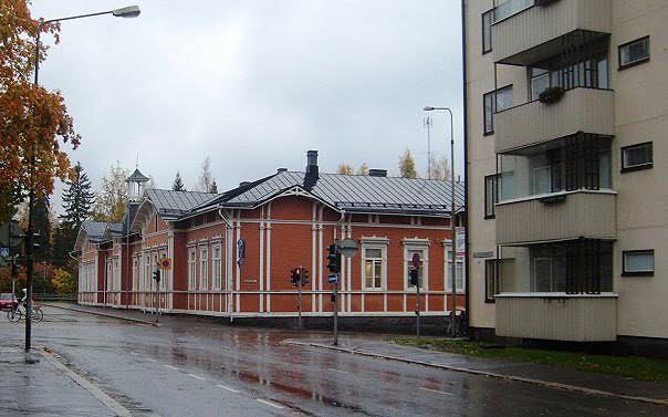 Центр финского города Куопио