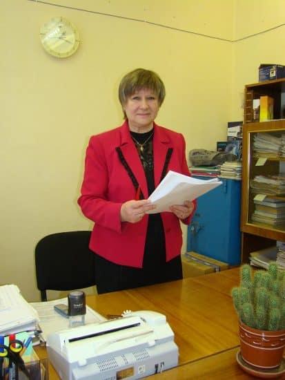 Директор Зинаида Викторовна Матикайнен сама училась в этой школе