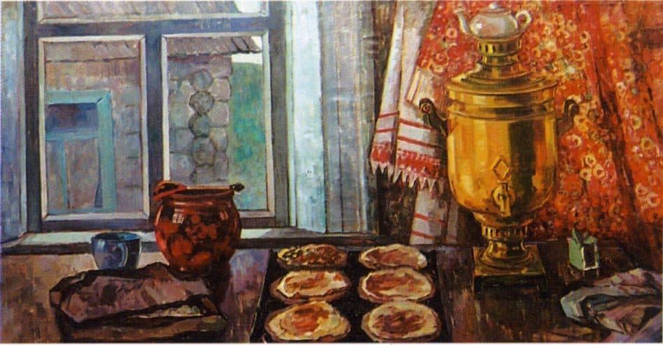 Валентина Авдышева. Карельский натюрморт, 1969