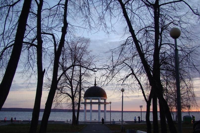 Ротонда – неотъемлемая часть Левашовского бульвара. Фото Юлии Свинцовой