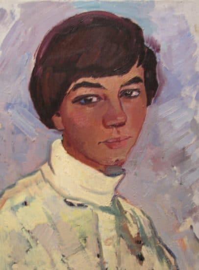 Валентина Авдышева. Портрет девушки