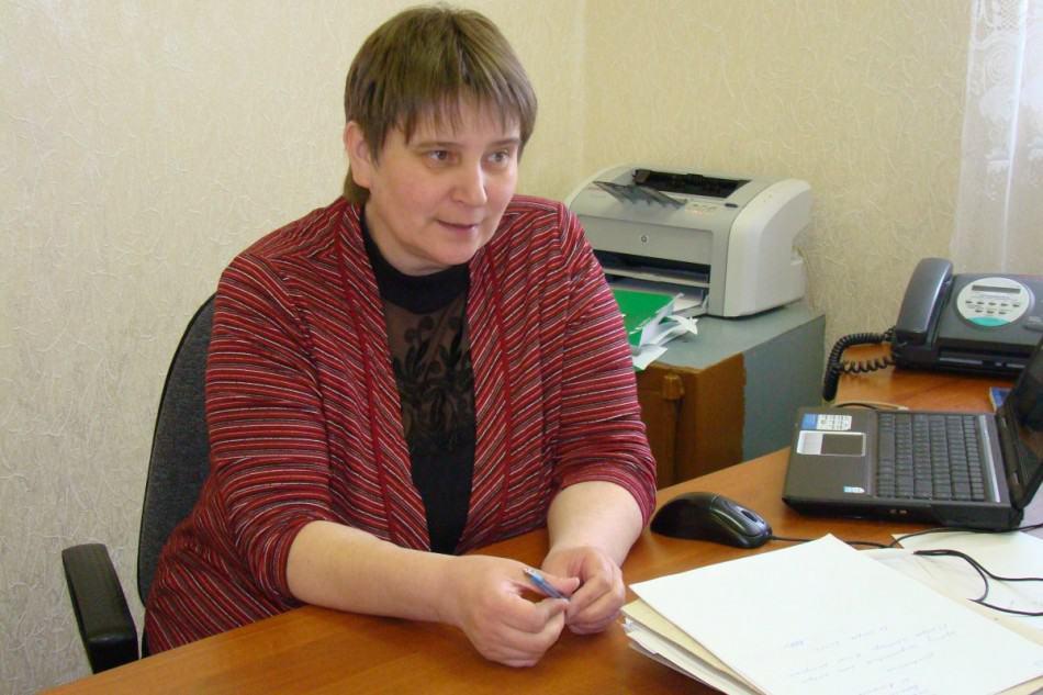 Директор школы Татьяна Александровна Афанасьева