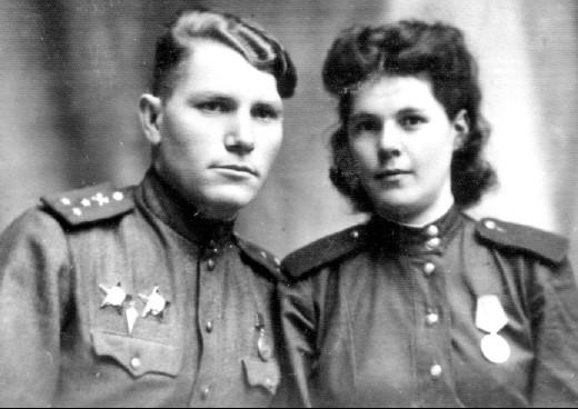 Петр Иванов и Тамара Дорогавцева