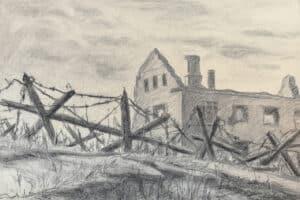 Зиновий Львович Петрозаводск после оккупации. 1944 год
