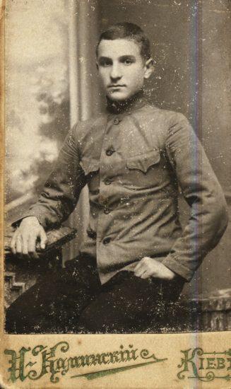 Николай Григович, студент