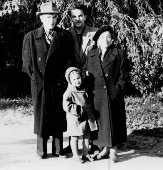 Семья. Белая Церковь, 1958 год