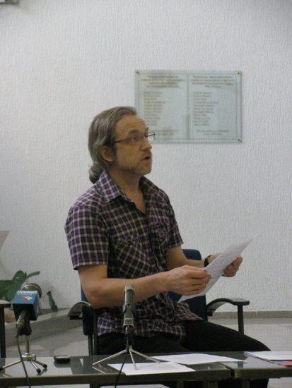 Сергей Пронин получил письмо директоров учреждений культуры в разгар пресс-конференции