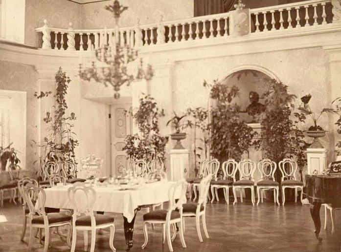 Зало в губернаторском доме. Фото Я. Пекарского. 1884