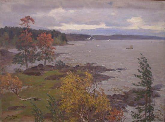 Осень в Карелии. 1937