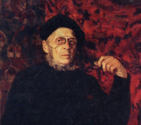 Г.А. Стронк. Портрет В.Н. Попова. 1944