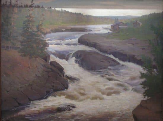 Надвоицкий водопад. 1920-е