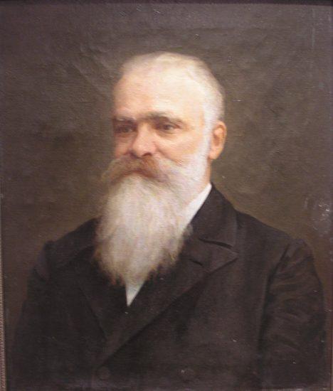 Портрет академика Ф.Ф. Фортунатова. 1915