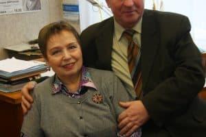 Геннадий Миронов и Нина Дорошина. Фото Владимира Ларионова