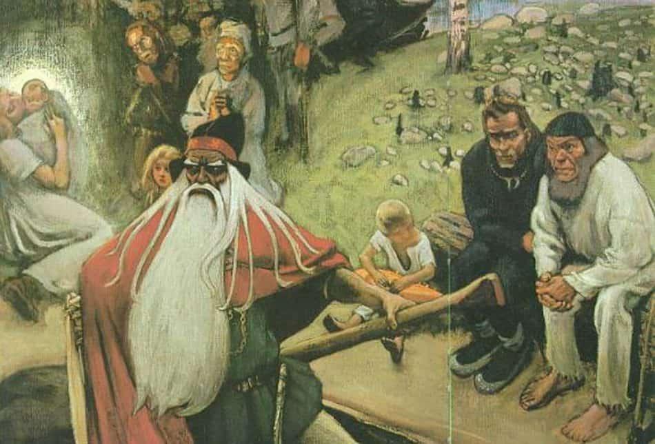Аксель Галлен-Каллела. Вяйнямёйнен покидает Финляндию. 1896 - 1906