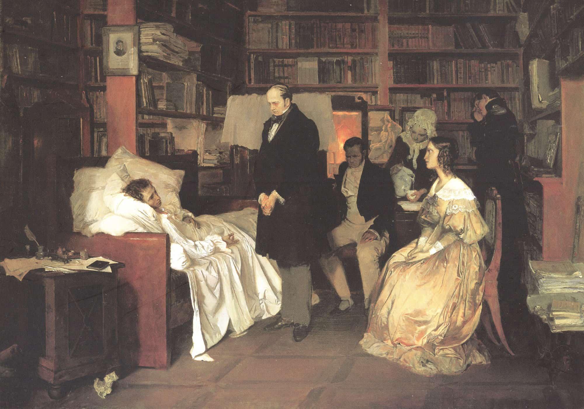 Дуэль, ранение и смерть Александра Пушкина