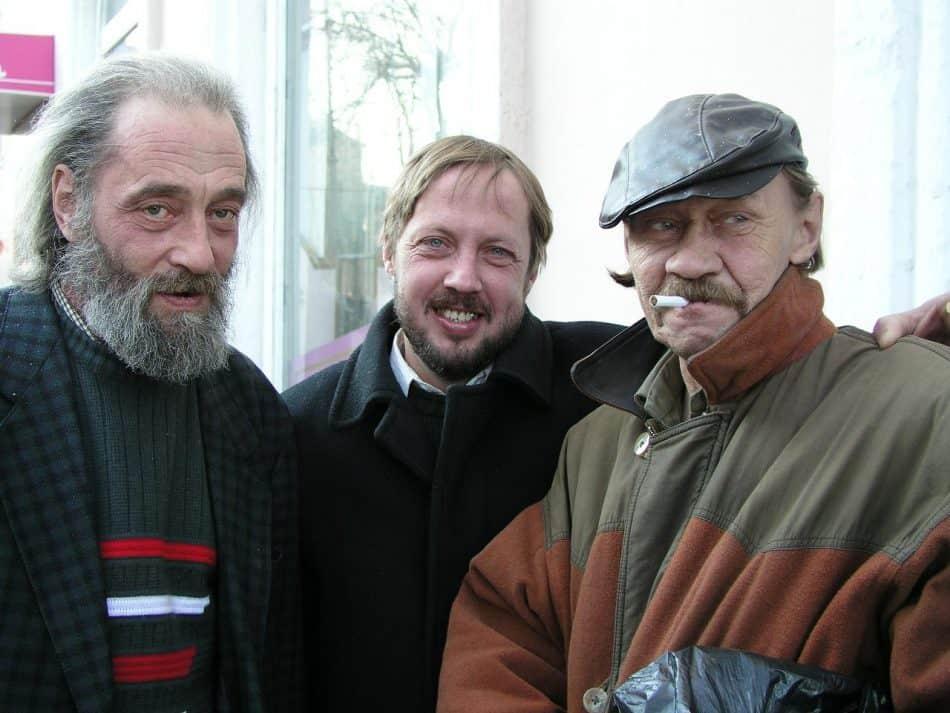2004 год. Слева направо — Александр Гурвич, Дмитрий Вересов, Василий Фирсов