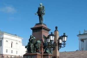 Памятник Александру II в Хельсинки. Фото:   euromapa.net
