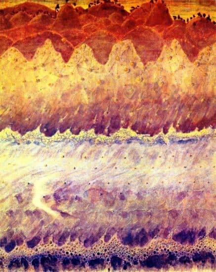 М. Чюрлёнис. Соната моря