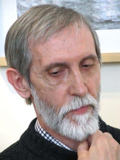 Александр Трифонов на вернисаже