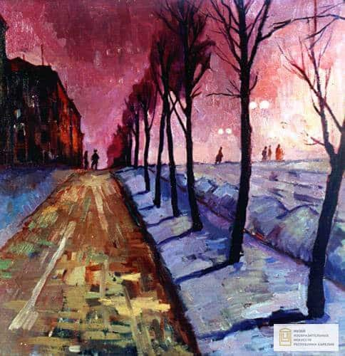 Валентина Авдышева. Улица Куйбышева. 1961 год