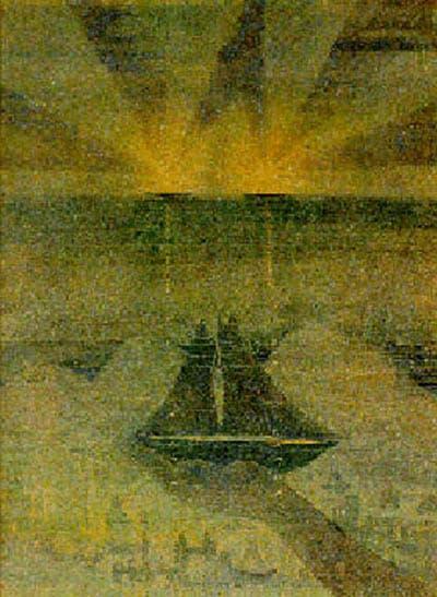 М.К. Чюрленис. Соната моря. Часть 2