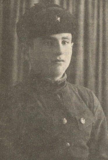Исаак Фрадков, 1943 год