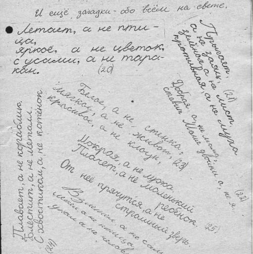 страница из Загадочной книги