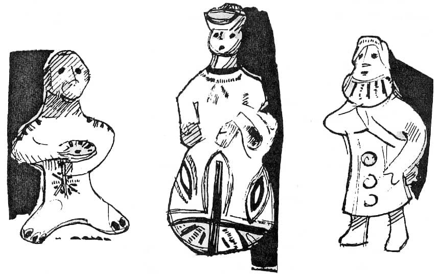 Традиционные каргопольские игрушки