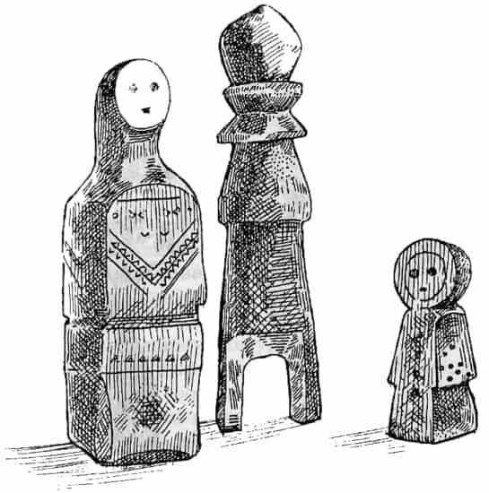 Традиционная каргопольская игрушка